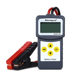Iklan Blueskysea Portable Micro 200 12V Auto Car Battery Load Tester Battery Analyzer Intl