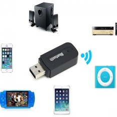 Bluetooth 3.5mm Stereo Audio Music Speaker USB Receiver Adapter - intl