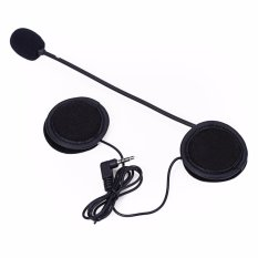 Bluetooth Microphone Speaker Helmet Interphone Intercom for Motorcycle Soft Cable Headset Accessory - intl