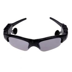 Bluetooth Musik Headset Panggilan Telepon Sunglasses untuk Mengemudi Bersepeda (Abu-abu)-Intl
