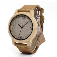 Jual Beli Online Bobo Bird Wl09 Womens Casual Antique Round Bamboo Wooden Watch Jam Tangan Dengan Tali Kulit Lady Watch Jam Tangan Es Top Brand Luxury Soft Natural Oem L09