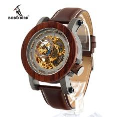 Jual Beli Bobobird K12 Red Sandalwood Steel Terbuka Mechanical Watch Jam Tangan Vintage Perunggu Skeleton Jam Pria Antik Steampunk Santai Automatic K12 Tiongkok