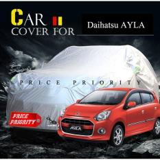 Body Cover / Sarung Mobil Ayla Polyesther Waterproof