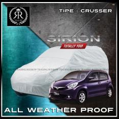 Body Cover / Sarung Mobil / Cover Mobil Daihatsu Sirion polos Silver
