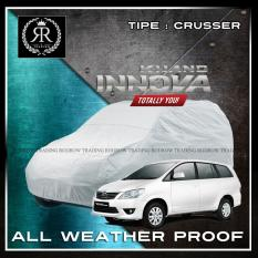 Body Cover / Sarung Mobil / Cover Mobil / Penutup Mobil Grand Innova polos Silver