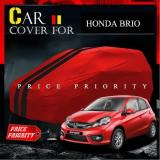 Body Cover Sarung Mobil Warna Premium Brio Agya Ayla March Yaris Lama Waterproof Asli