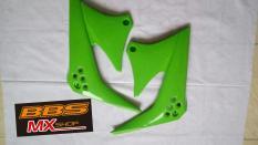 Body cover sayap tangki depan klx150 hijau