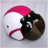 Jual Bogo Helm Dewasa Bogo Putih Pink Garis Di Bawah Harga
