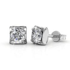 Berani Solitaire Earrings-Kristal dari Swarovski®-Intl