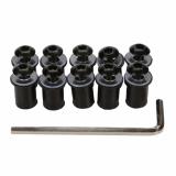 Jual 10 X Hadiah Layar Angin Baut Sekrup Kit Depan Pemasangan Motor Hitam Bolehdeals Branded Original