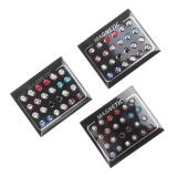 Harga Bolehdeals 12 Buah Warna Campuran Magnet Tidak Tindikan Anting Giwang 4 Mm Baru