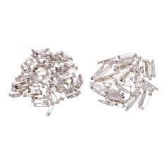 Bolehdeals 200 Pieces Bulk Bar Jarum Bros untuk Perhiasan Temuan Kerajinan DIY Membuat 1.5 Cm dan 2 Cm Panjang Grosir -Internasional