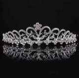 Toko Menawan Pengantin Pernikahan Kristal Band Putri Mahkota Kepala Tiara Jilbab Bando Termurah Di Tiongkok