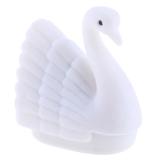 Obral Bolehdeals Pesona Burung Angsa Muda Swan Display Perhiasan Cincin Kalung Anting Penyimpanan Kotak Hadiah Murah