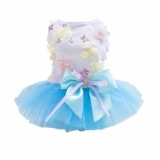 Bolehdeals Cantik Puppy Rok Putri Gaun Bowtie Pesta Pakaian Kecil Untuk Anjing Peliharaan L Intl Bolehdeals Diskon 40
