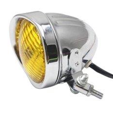 Spesifikasi Lampu Depan Sepeda Motor Untuk Harley Bobber Chopper Softail Springer Chrome Amber Intl Dan Harganya