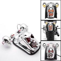 Harga Bolehdeals Lampu Rem Belakang Bentuk Tengkorak Untuk Harley Bobber Helikopter Branded