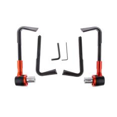Spek Bolehdeals Universal 22Mm 2 22 Cm Rem Sepeda Motor Kopling Tuas Pelindung Handguard Orange Internasional Tiongkok