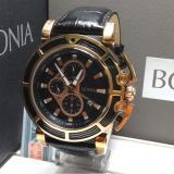Review Toko Bonia Jam Tangan Pria Bonia Bpt195 1532C Black Rosegold Leather Black Online