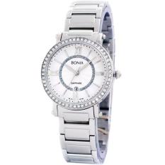 Bonia - Jam Tangan Wanita - Putih - Stainless Steel - BNB10146-2313S