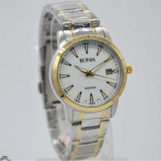 Bonia Rosso BNB10100-2122 - Jam Tangan Wanita - Silver GoldIDR1104000. Rp 1.104.000