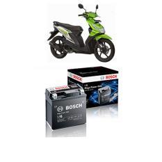 Bosch Aki Kering Motor Honda Beat 2008 Maintenance Free Agm Rbtz 5S 0092M67041 Di Indonesia