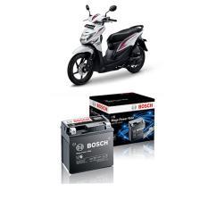 Cuci Gudang Bosch Aki Kering Motor Honda Beat Pop Iss 2015 Maintenance Free Agm Rbtz 5S 0092M67041