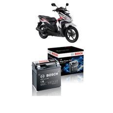 Bosch Aki Kering Motor Honda Vario 110 Matic Maintenance Free Agm Rbtz 5S 0092M67041 Di Indonesia
