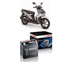 Harga Bosch Aki Kering Motor Yamaha Mio Gt 2012 Maintenance Free Agm Rbtz 5S 0092M67041 Baru