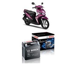 Harga Bosch Aki Kering Motor Yamaha Mio Soul Gt 125 2013 Maintenance Free Agm Rbtz 5S 0092M67041 Online