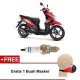 Promo Bosch Busi Sepeda Motor Hoda Beat Ur5Dc 0242045005 2 Pcs Free Masker Bosch