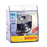 Promo Bosch Lampu Mobil All Weather Plus H4 12V 60 55W P43T 1 Pcs Putih Bosch