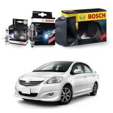 Bosch Paket Energi (Busi Super4, Klakson, & Lampu) u/ Mobil New VIOS 1.5i - th.07-on - 3Pcs/set