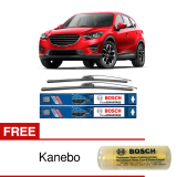 Jual Bosch Sepasang Wiper Depan Frameless New Clear Advantage Mobil Mazda Cx 5 24 18 2 Pcs Set Free Kanebo Bosch Branded