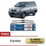 Harga Bosch Sepasang Wiper Depan Frameless New Clear Advantage Mobil Mitsubishi Kuda 20 19 2 Pcs Set Free Kanebo Bosch Asli Bosch