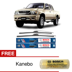 Iklan Bosch Sepasang Wiper Depan Frameless New Clear Advantage Mobil Toyota Hilux Tiger 21 19 2 Pcs Set Free Kanebo Bosch