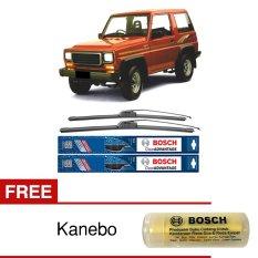 Harga Bosch Sepasang Wiper Mobil Daihatsu Taft Frameless New Clear Advantage 17 17 2 Buah Set Free Kanebo Bosch Yang Murah