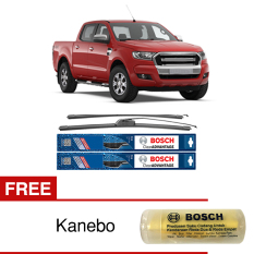 Harga Bosch Sepasang Wiper Frameless New Clear Advantage Ford Ranger 18 18 2 Buah Set Hitam Free Kanebo Bosch Origin