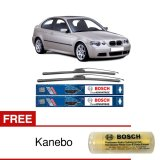 Review Bosch Sepasang Wiper Frameless New Clear Advantage Mobil Bmw 3 Coupe E 46 22 19 2Buah Set Hitam Free Kanebo Bosch Indonesia