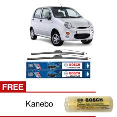 Miliki Segera Bosch Sepasang Wiper Mobil Cherry Qq3 Frameless New Clear Advantage 21 16 2 Buah Set Free Kanebo Bosch