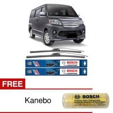 Bosch Sepasang Wiper Frameless New Clear Advantage Mobil Daihatsu Luxio 19