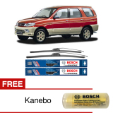 Situs Review Bosch Sepasang Wiper Frameless New Clear Advantage Mobil Daihatsu Taruna 21 18 2Buah Set Hitam Free Kanebo Bosch
