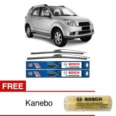 Bosch Sepasang Wiper Frameless New Clear Advantage Mobil Daihatsu Terios (21