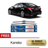 Jual Bosch Sepasang Wiper Frameless New Clear Advantage Mobil Honda Accord Cu 24 22 2Buah Set Hitam Free Kanebo Bosch Murah Indonesia