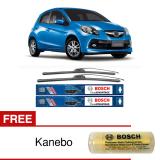 Top 10 Bosch Sepasang Wiper Frameless New Clear Advantage Mobil Honda Brio Satya 22 16 2 Pcs Set Free Kanebo Bosch Online