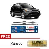 Dapatkan Segera Bosch Sepasang Wiper Frameless New Clear Advantage Mobil Honda Cr V 3Rd Gen 26 17 2 Pcs Set Free Kanebo Bosch