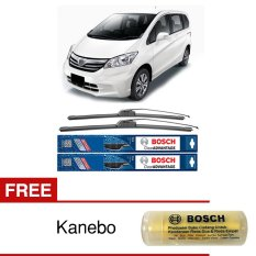 Bosch Sepasang Wiper Mobil Honda Freed Frameless New Clear Advantage 26