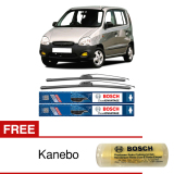 Jual Bosch Sepasang Wiper Frameless New Clear Advantage Mobil Hyundai Atoz Mx 20 16 2 Pcs Set Free Kanebo Bosch Di Indonesia