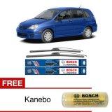 Obral Bosch Sepasang Wiper Frameless New Clear Advantage Mobil Suzuki Aerio 22 18 2Buah Set Hitam Free Kanebo Bosch Murah