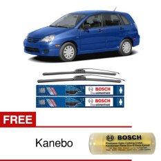 Bosch Sepasang Wiper Frameless New Clear Advantage Mobil Suzuki Aerio 22